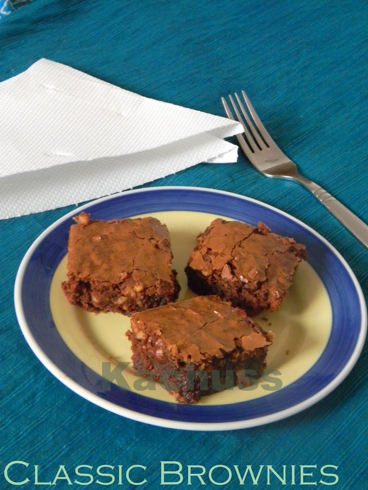 Kachuss Delights: Classic Brownies