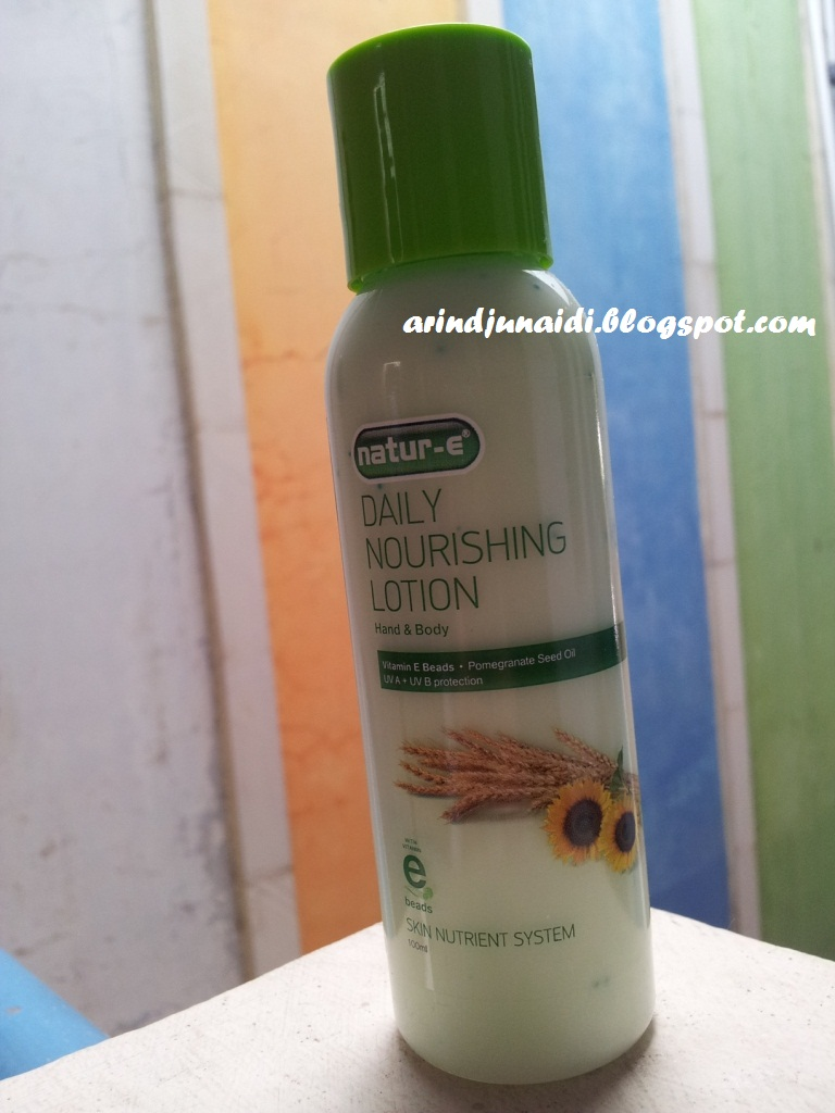 Arin's Blog: Nature - E Daily Nourishing Lotion Review