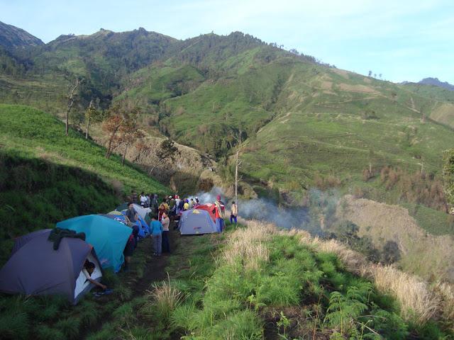 Sembalun village 1,156 meter altitude