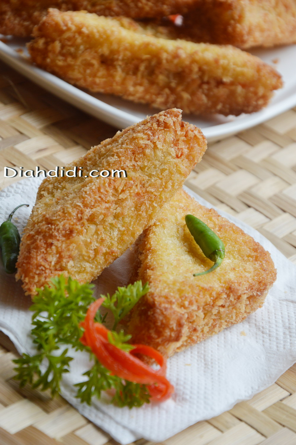 Diah Didis Kitchen Memanfaatkan Stock Roti Tawar Menjadi Snack Gandum 400 Gr Enakroti Goreng Isi Ragout