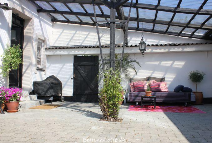 Vores nye udendørs daybed - gør-det-selv - Bettina Holst Blog