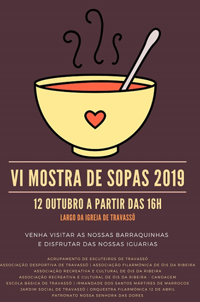 ÓIS DA RIBEIRA NA MOSTRA DE SOPAS DE TRAVASSÓIS / 2019!