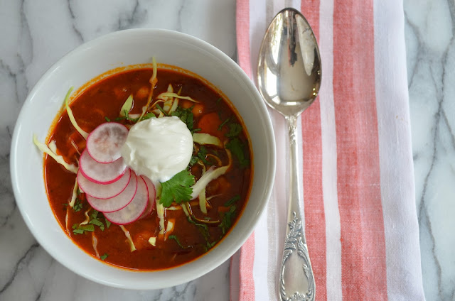 Leftover Turkey Posole- a Mexican inspired stew