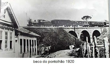 PONTILHAO VISTA PELA RUA DOS NOGUEIRAS 1920