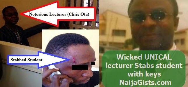 chris otu unical lecturer