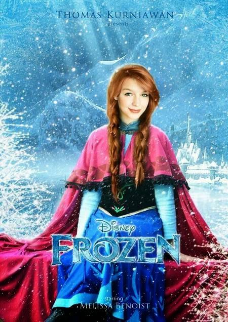 Frozen - Anna - Melissa Benoise