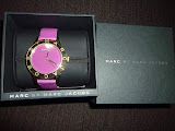 MARC JACOBS BLADE 40 MM WATCH