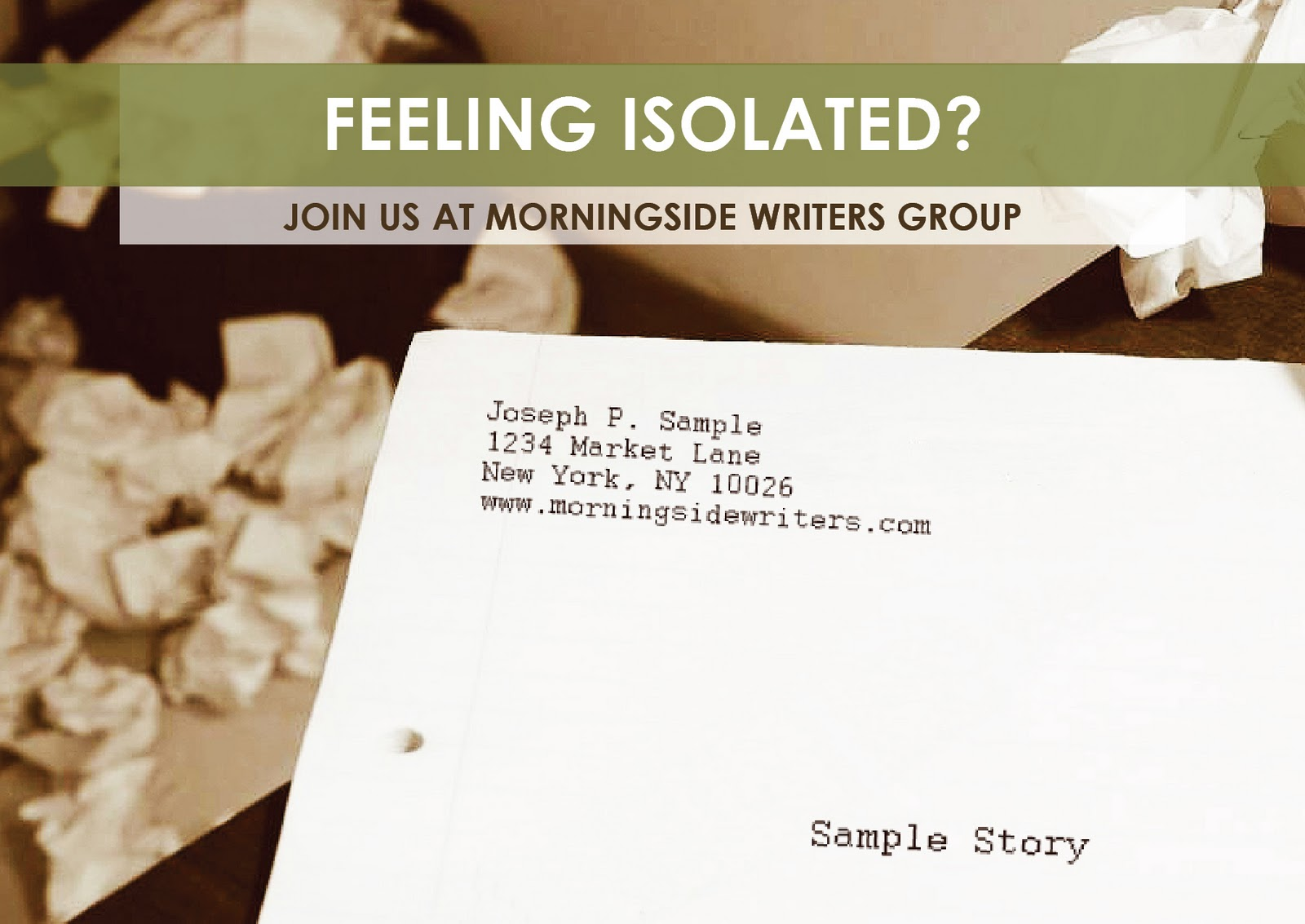 Morningside Teen Writing Workshop is a twelve-week intensive workshop for ...