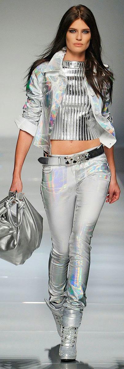 Metalizados - Look tendência 2015