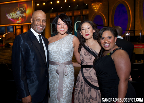 sandra oh sara ramirez james pickens jr chandra wilson naacp image awards