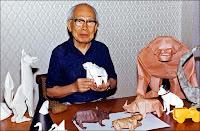 """Cumpleaños 101 de Akira Yoshizawa, uno de los """"Padres del Origami"""""""