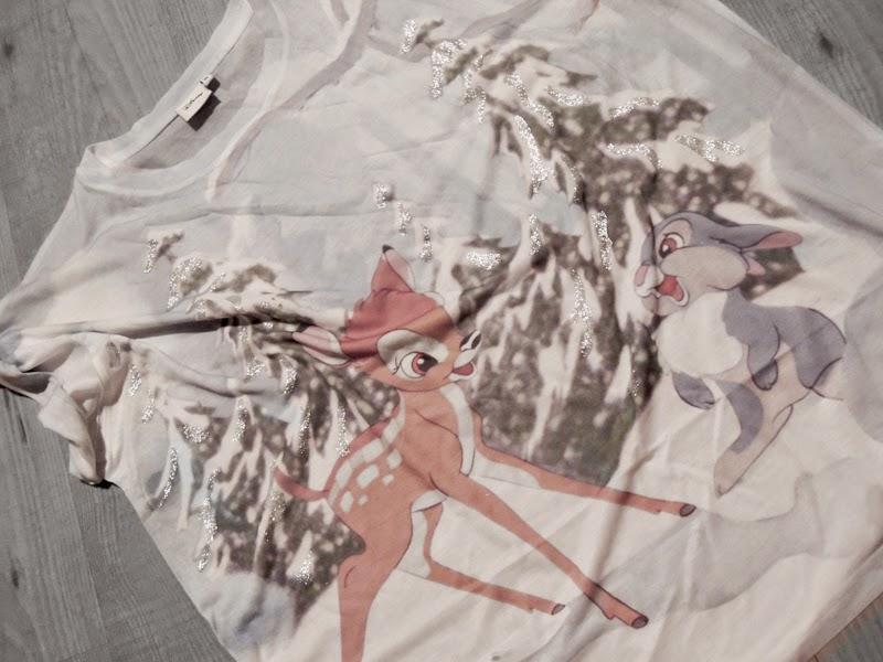 Disney Shirt Bambi Primark