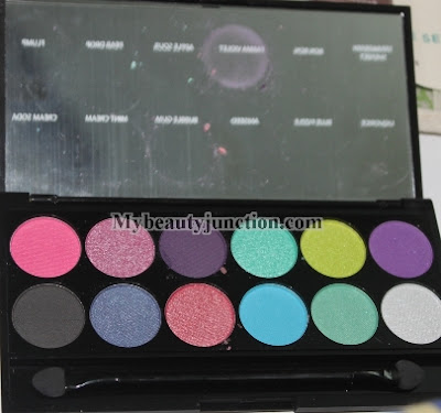 Swatches and review of Sleek iDivine Candy Collection eyeshadow palette