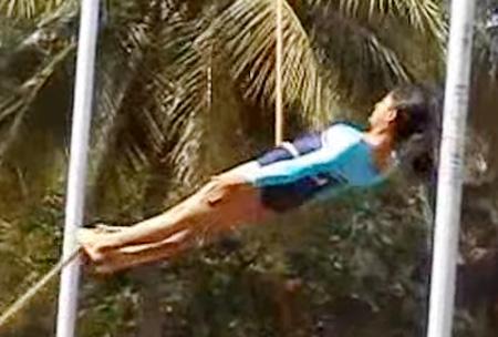 Indian Girls Rope Gymnastics