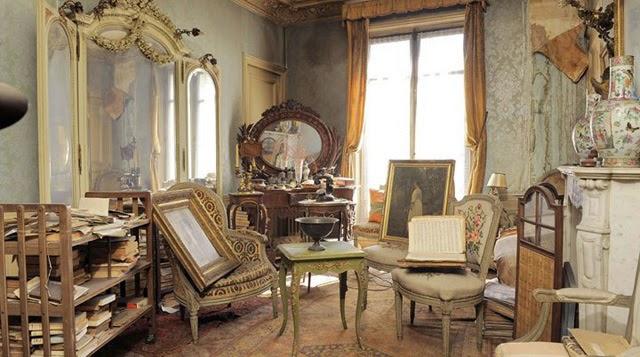 Apartamento Cápsula del Tiempo en París Encontró sin tocar durante 70 años