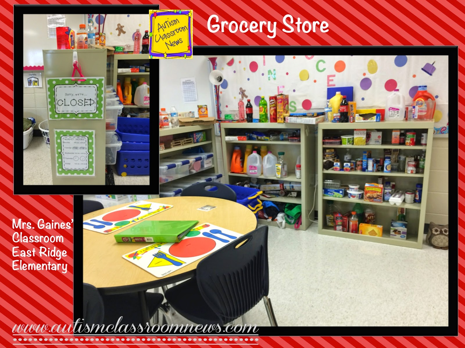 Autism Classroom News Functional Elementary Classroom