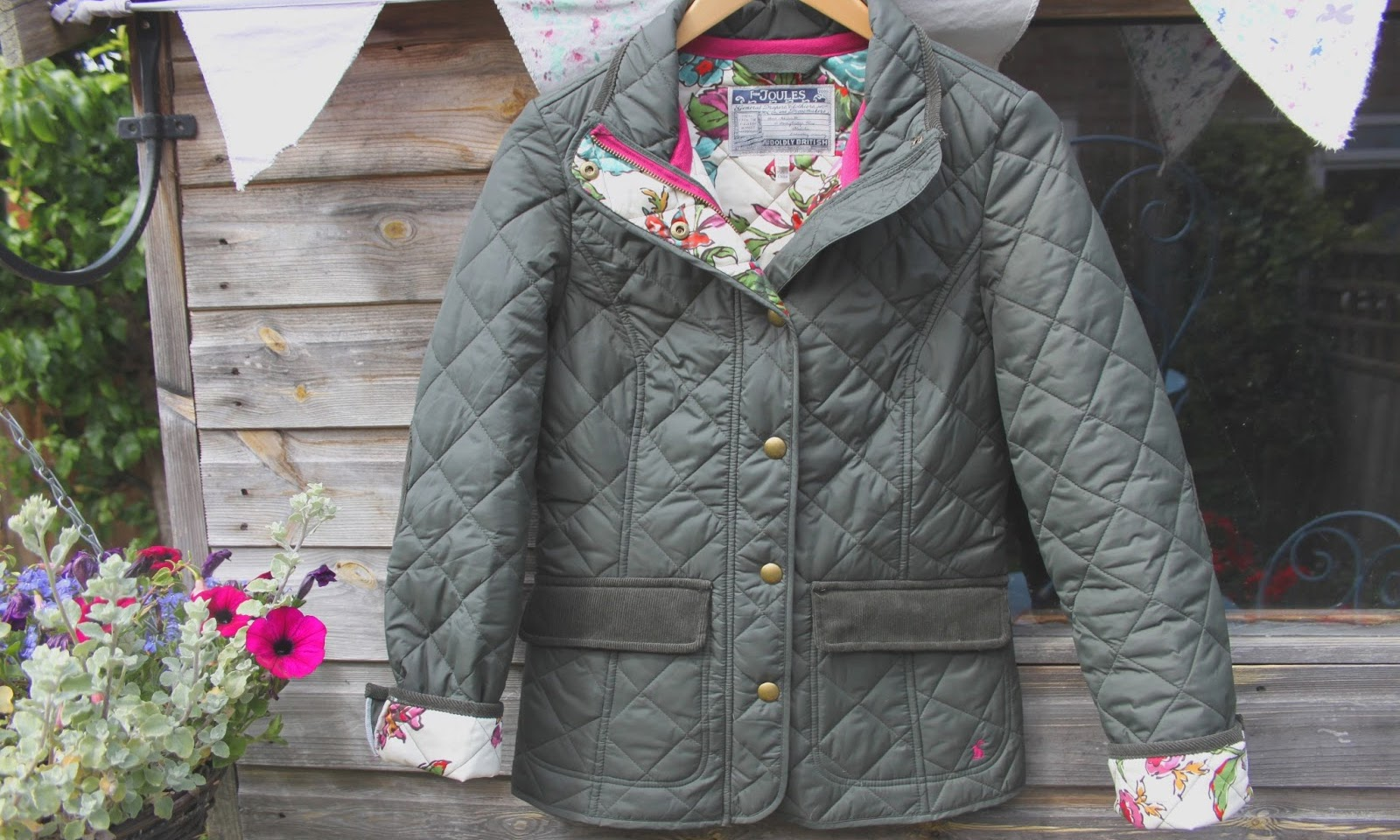 Quilted Joules Jacket
