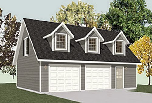 two story garage plans garage plans blog behm design topics. Black Bedroom Furniture Sets. Home Design Ideas