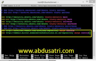 cara install webmin di VPS ubuntu