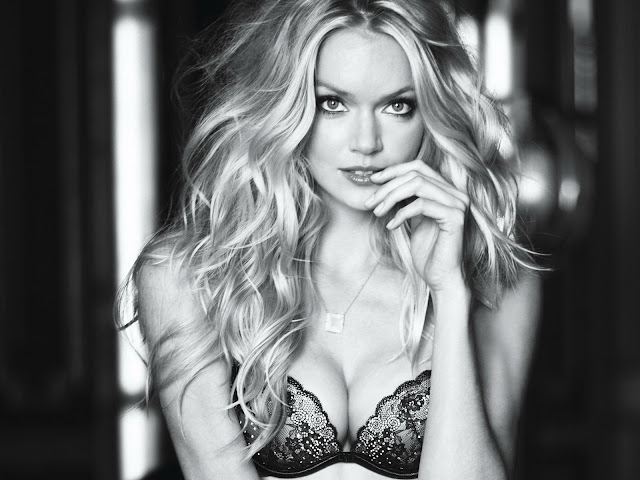 Lindsay Ellingson sexy in Victoria's Secret Fall 2011 Gorgeous Beauty Campaign