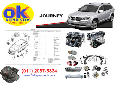 repuestos dodge journey
