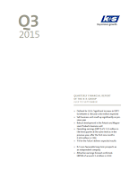 K+S, Q3, 2015, front page