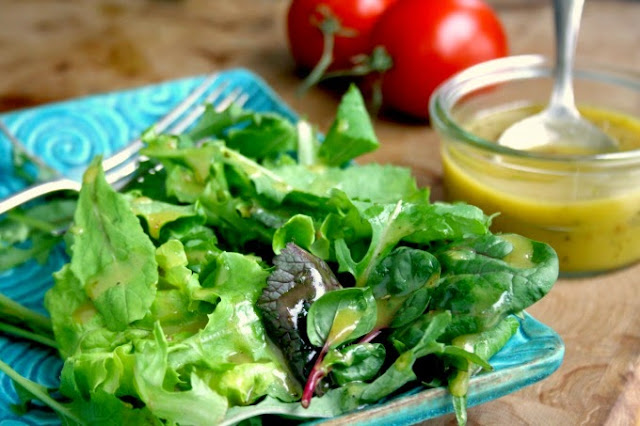 Honey Dijon Vinaigrette for Greens and Grains
