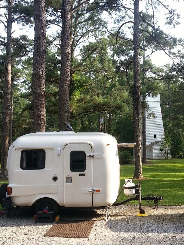 A H Stephens State Park In Our U Haul Fiberglass Camper
