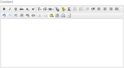 CLEditor HTML 編輯器