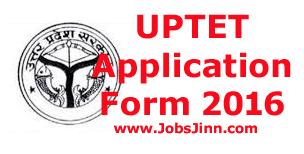 UPTET Application Form 2016
