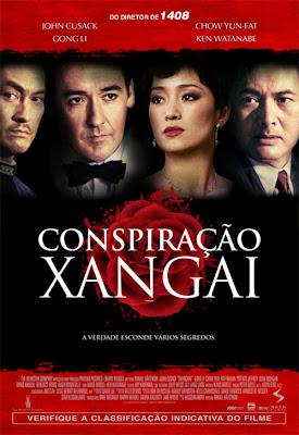 Filme Poster Conspiração Xangai DVDRip XviD Dual Audio & RMVB Dublado