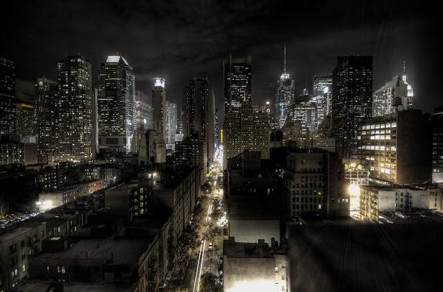 مدينة نيويورك ليلاً, أفضل الصور,