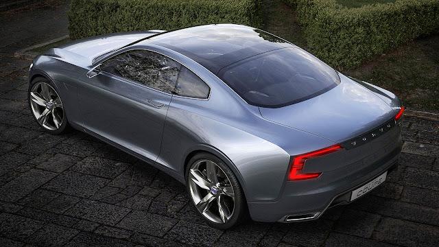 Volvo Concept Coupé - The next generation P1800 (top)
