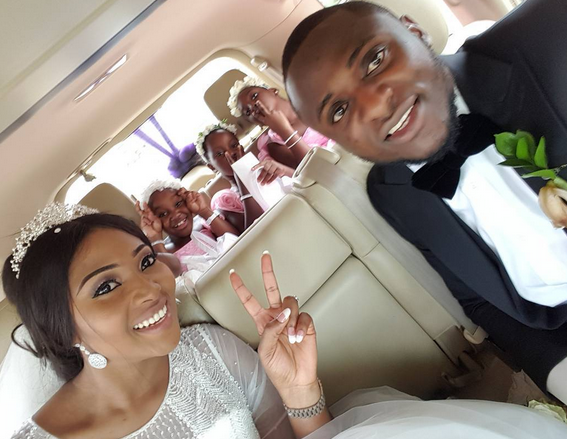 ubi franklin and Lilian wedding image