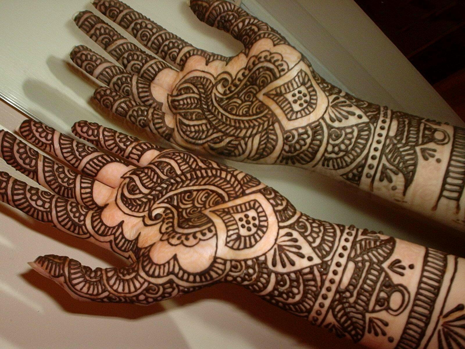 Mehndi Designs For Hands  Arabic Henna/Mehndi Designs For Brides