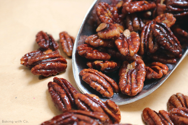 nueces caramelizadas al estilo chino / anous caramelitzades