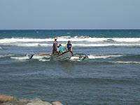 Pantai Muara Cileutik Babakan Pangandaran