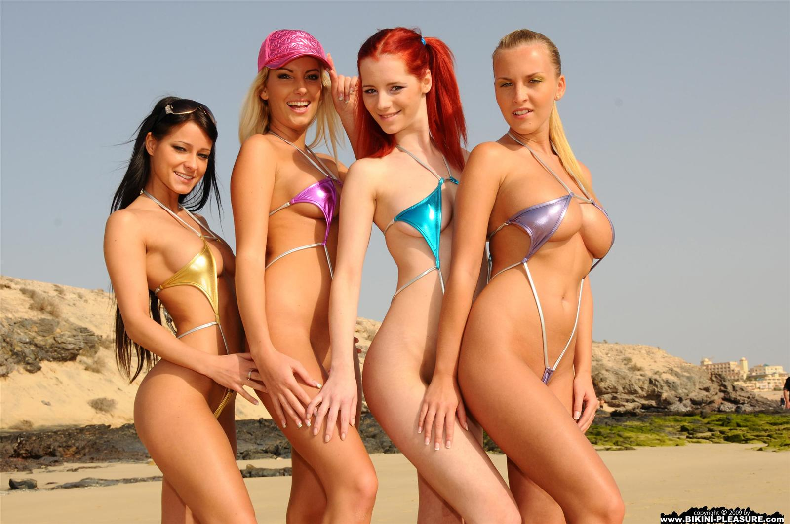 www.CelebTiger.com+Super+Mini+Bikini+Girls+At+Beach+14 Sexy Chicks Wearing Super Micro Bikini At Public Beach And Gets Nude HQ Photo Gallery