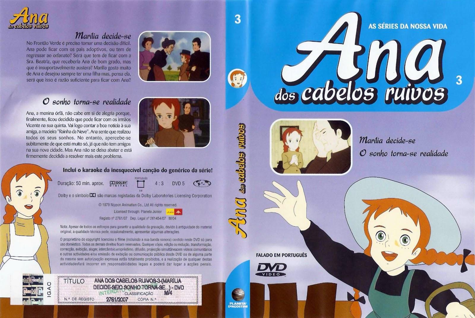Ana dos Cabelos Ruivos Vol.1 A 25  PT-PT Ana+Dos+Cabelos+Ruivos+Vol.3