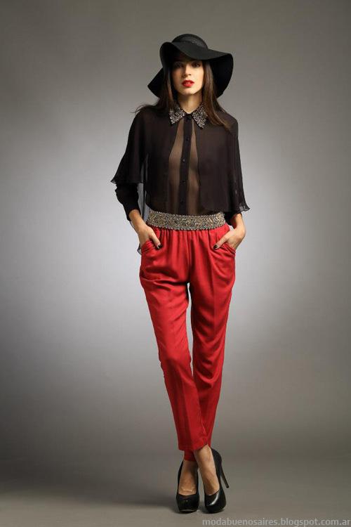 Camisas de mujer invierno 2013 Sathya.