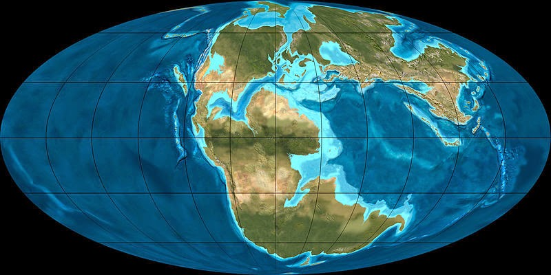 History of the earth october 7 pangaea comes apart middle jurassic map 170 million years ago by ron blakey used under creative commons license publicscrutiny Images