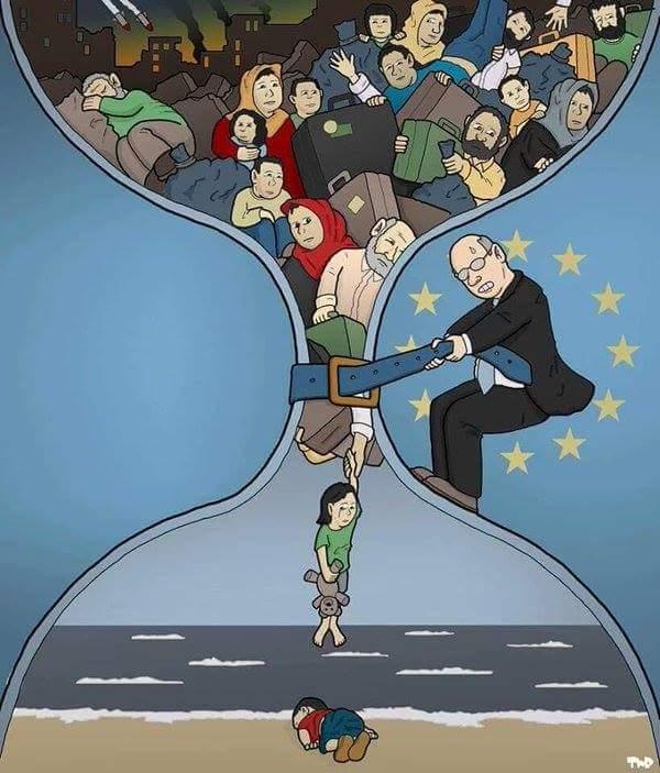 Το καλύτερο σκίτσο για μετανάστες
