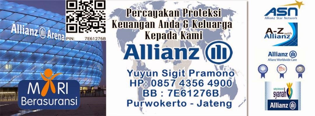 Asuransi Jiwa Terbaik, Asuransi Allianz Purwokerto, Tabungan Proteksi, Perencana Keuangan Keluarga