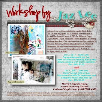 Jaz's Class : Papier, Malaysia {1 Sept 2011}