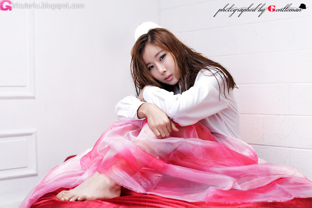 1 Cheon Bo Young - White Wet-very cute asian girl-girlcute4u.blogspot.com