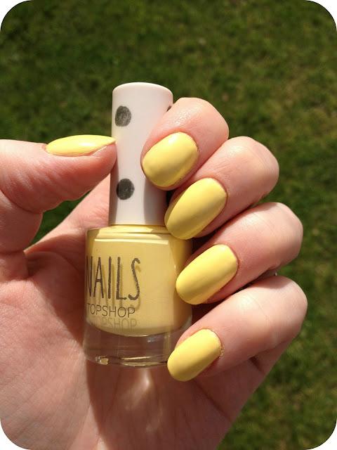 Topshop Nail Polish in Bee's Knees