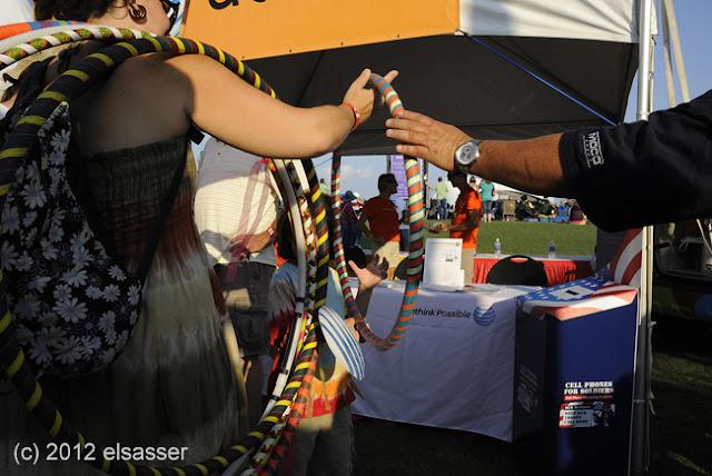 """""""hula hoop"""" (c) 2012 george elsasser"""