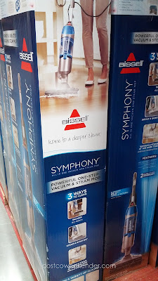Bissell Symphony All-In-One Vacuum and Steam Mop makes cleaning easier and less tedious