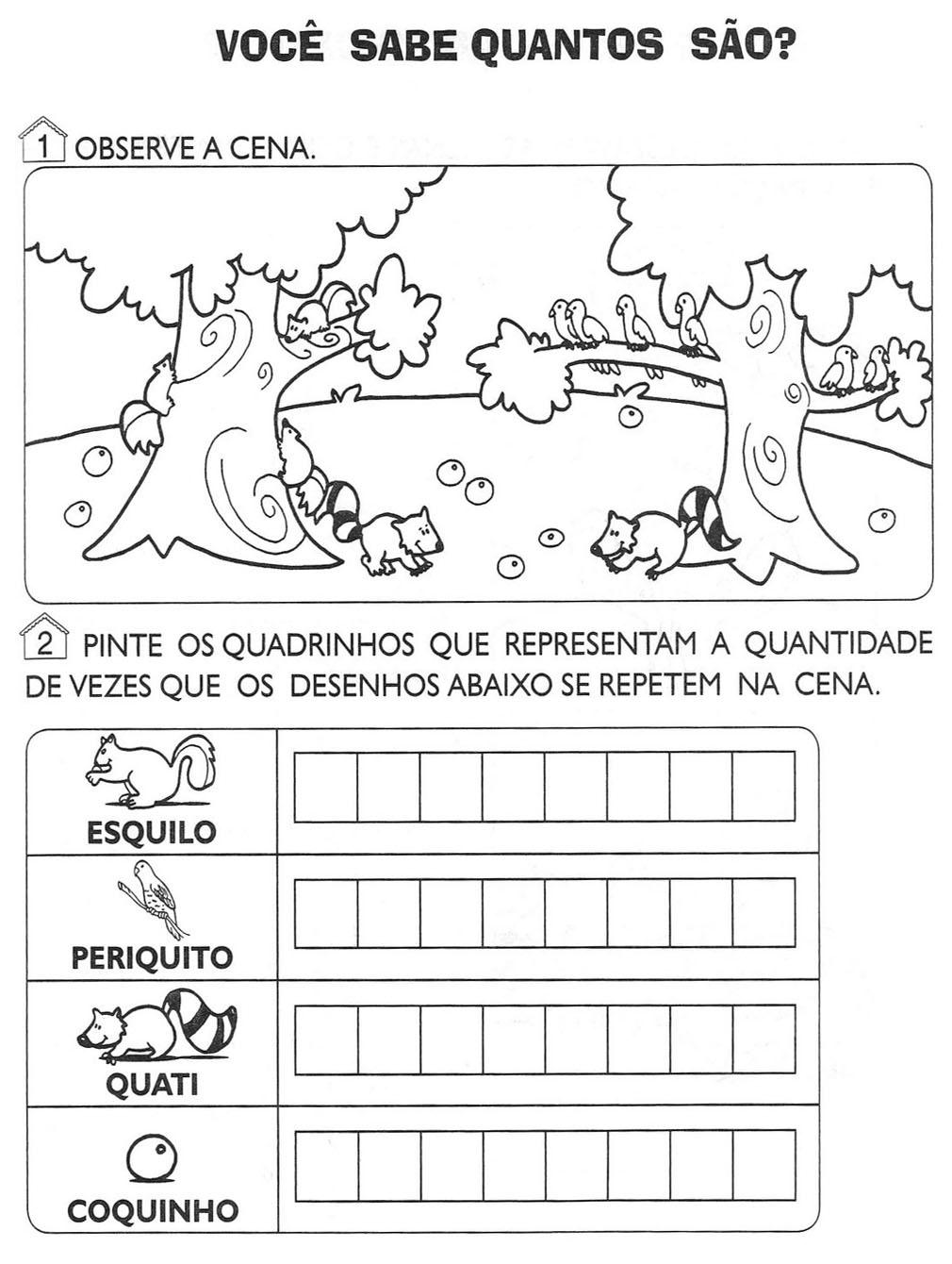 Desenhos Para Colori Atividades para seu filho desenhar