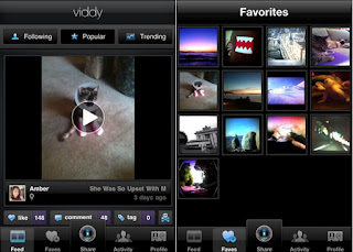 Viddy application